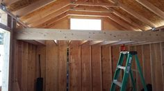This is the start to one of the two lofts that our cabin will have.
