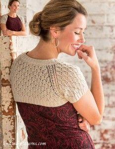 Free Knitting Patterns For Lace Bolero : 1000+ ideas about Shrug Knitting Pattern on Pinterest Knit Shrug, Shrug Pat...