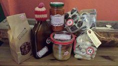 Spekulatius Likör, gebrannte Mandeln, Apfel-Zimt Kuchen im Glas, Tomaten-Lebkuchen Chutney, Whisky Pralines, Vanillekipferl