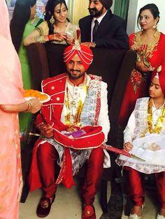 @geeta_basra @harbhajan_singh Wedding, end Oct, 2015, Jalandhar