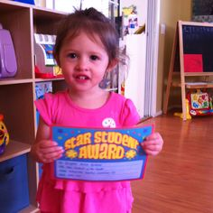 Footprints Family Childcare Our little Star Student of the Month :)