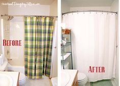 Mini Bathroom Makeover!  Done in an afternoon. :-)