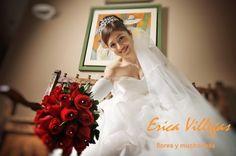 Lindos bouquets rojos de Erica Villegas Atelier Floral | Foto 26