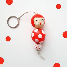 In a dotted mood :) because today is the international day of the dot ⚪⚪⚪ Now in my etsy shop     #dots#dotday #internationaldotday  #formom #fashiondolls #fashion #accessories #style #doll #bizuteria #brelok #kokeshi #bagaccessory #dollmaker #kokeshidolls #japanlovers #jewelry #japanese #handmadedoll #handmade #painting #kusama #wood #leatherstrap #pendant #thedot #white #red