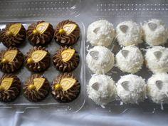 Chocolate Ganache and Coconut Cupcakes