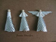 Here is the angel in phases from left to right
