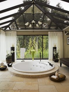 I'll take a master bath like this, please and thank you!