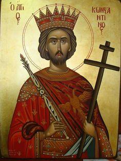 Αγιε Κωνσταντίνε πρεσβευε υπέρ αναπαυσεως της ψυχής του δούλου του Θεού Κωνσταντίνου που  σήμερα 16-4-2016 κηδευτηκε.