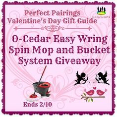 O-Cedar Easy Wring Spin Mop and Bucket System Giveaway Ends 2/10 ~ Tales From A Southern Mom