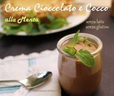 Crema cioccolato e cocco alla menta