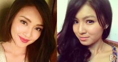 Kathryn Bernardo Nadine Lustre Look a like pics latest compared comparison James Reid Daniel Padilla Talk Back You're Dead She's Dating The Gangster movie abs cbn photos Gangster Movies, Daniel Padilla, James Reid, Jamie Campbell Bower, Kathryn Bernardo, You're Dead, Nadine Lustre, Jadine, Sanya