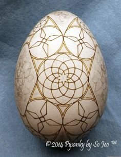 WIP Ukrainian Easter Egg Batik Art Pysanky By So Jeo