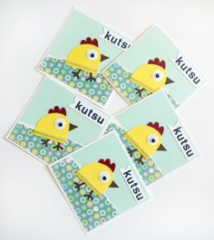 Quick, simple and fun die-cut birthday invitation cards for little boys and girls.