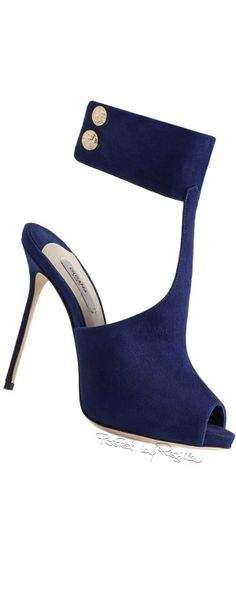 Blue shoes, heels, pumps