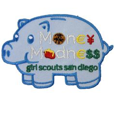 GSSD MONEY MADNESS PATCH FOR DAISIES-Orders include badge requirements. Fun financial literacy program.