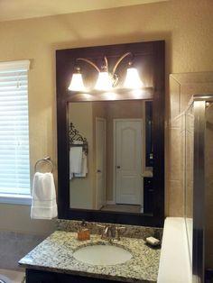 Diy mirror framing