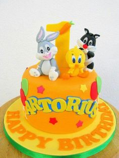 Baby 1st Birthday Cake Lawsons first bday cake