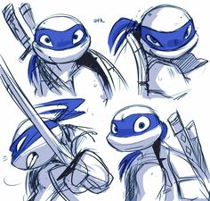 TMNT turning Leo into my favorite turtle? Teenage Ninja Turtles, Ninja Turtles Art, Tmnt Leo, Tmnt Comics, Leonardo Tmnt, Tmnt 2012, Otaku, Fan Art, Anime