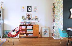 La maison heureuse d'un illustrateur et céramiste néerlandais