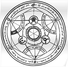 Full Metal Alchemist Wallpapers Human Transmutation Circle by sairou -… – Fullmetal Alchemist Full Metal Alchemist, Anime Tattoos, Body Art Tattoos, Tatoos, 鋼の錬金術師 Fullmetal Alchemist, Magic Symbols, Marquesan Tattoos, Pentacle, Book Of Shadows