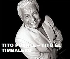 TODAY (June 1, 14 years ago) Ernesto Antonio Puente a.k.a Tito Puente , 'The Musical Pope', passed away. He is remembered. To watch her 'VIDEO PORTRAIT' 'Tito Puente - Tito El Timbalero' in a large format, to hear 'BEST OF Tito Puente Tracks' on Spotify go to >>http://go.rvj.pm/3b