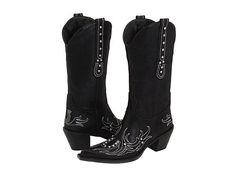 Roper Rockstar Horseshoe Black - Zappos.com Free Shipping BOTH Ways