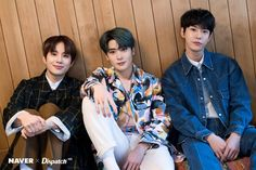 NCT handsome trio guys flaunt dashing visuals Who: Doyoung, Jaehyun, Jungwoo (NCT Jaehyun Nct, Johnny Seo, Jung Jaehyun, Jung Woo, Kpop, South Korean Boy Band, Nct Dream, Nct 127, Boy Bands