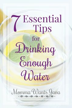 We all know we need to drink 8 cups daily for our health, but how is it possible if you don't like it or forget? Here are 7 tips for drinking enough water.