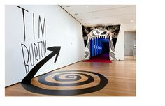 MoMA Tim Burton exhibition graphics by MoMA The Museum of Modern Art, via Flickr