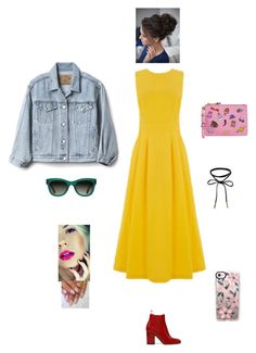 """""""K B M M D"""" by queen-kaitlyn ❤ liked on Polyvore featuring Warehouse, Gap, Moschino, TOMS and Casetify"""