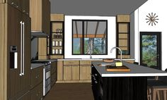 Visit my site to see more pictures and find helpful links to create your own dream kitchen.