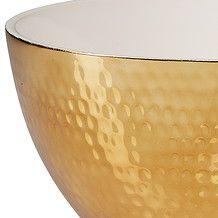 Ceramic Dimple Trinket Bowl 10x20cm