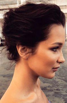 """Bella Hadid behind the scenes of a Harpers Bazaar Russia shoot """
