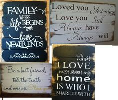Find all the signs you'd love for your home