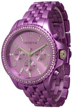 107 Women's Geneva Purple Boyfriend Style Watch with Chrono Design Exquisite Collections, http://www.amazon.com/dp/B00AHP29P2/ref=cm_sw_r_pi_dp_Al.rrb0GAKX6H