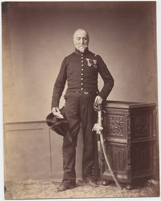 Monsieur Loria, 24th Mounted Chasseur, Regiment Chevalier of the Legion of Honor. Monsieur Loria seems to have lost his right eye. IMAGE: BROWN UNIVERSITY LIBRARY The only surviving images of veterans of the Napoleonic Wars