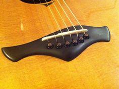 2001 Stephen Strahm Guitars acoustic bridge