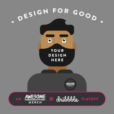 BIG NEWS! We've collaborated with the good folk at Dribbble to bring this unique playoff challenge to create some awesomely designed face masks!  If you are a Dribbbler and you want to get involved, each participant will receive $35 credit to create their own merch.  We will be donating over 1,000 protective supplies to healthcare workers on the front lines through Masks For Docs with two selected designs.  For all competition details, head over to Dribbble