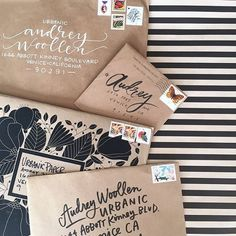 """There is nothing like coming home to a crop of beautiful mail."" Photo taken by @Audrey Woollen 