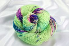 Indie Dyed Yarn Hand Dyed Yarn Speckled Sock Yarn Sock