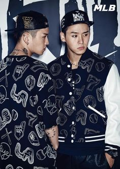 YG's exclusive twin dancers, Kwon Young Deuk and Kwon Young Don