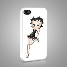 Betty Boop: Design 2 iPhone and Samsung Phone Case
