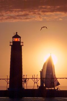 Grand Haven Lighthouse, Michigan