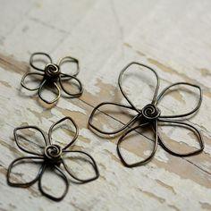 Pretty!  wire flowers