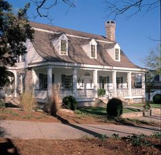Colonial   Cottage   Country   Farmhouse  Plantation   Traditional   House Plan 86164