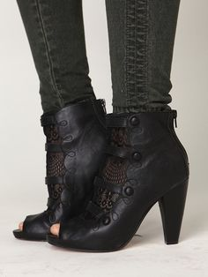 Free People Victorian Lace Ankle Bootie, $0.00 No longer available.