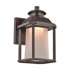 Trans Globe Lighting Southfield LED-40930 Outdoor Wall Lantern Black - LED-40930 BK
