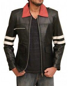 Prototype Alex Gaming Black Leather Jacket -Custom made #celebrityleatherjacket  http://www.styloleather.com