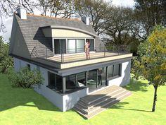 ... et extensions de maisons sur Pinterest  Extensions, Loft et Baies