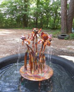 Standing Heron Copper Water Garden Fountain | ~Bronze U0026 Copper~ | Pinterest  | Garden Fountains, Fountain And Water